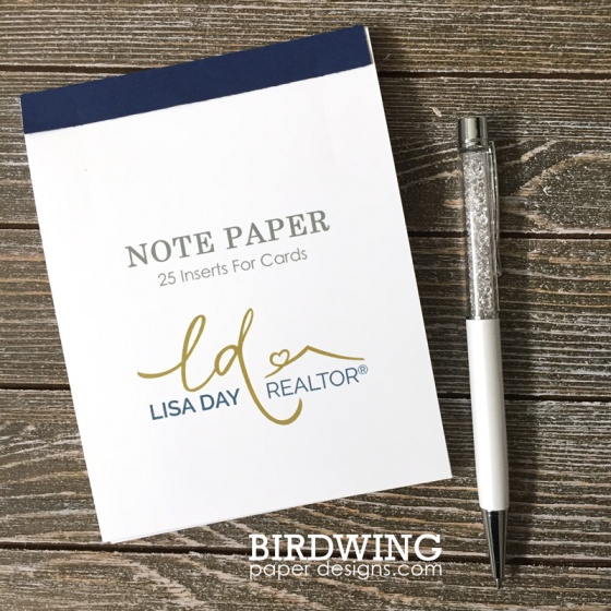 DIY Notepad With Custom Paper- Birdwing Paper Designs