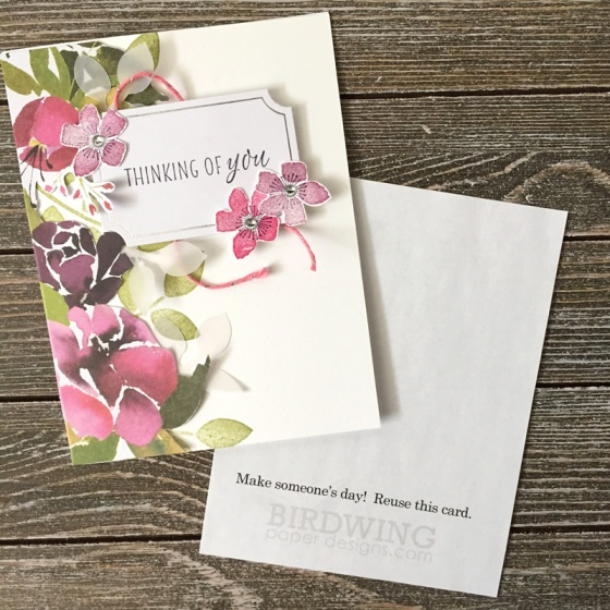 DIY Notepad With Custom Paper - Birdwing Paper Designs