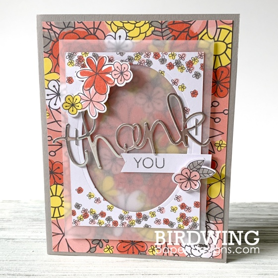 Stampin' Up! Thank You Cards - Birdwing Paper Designs