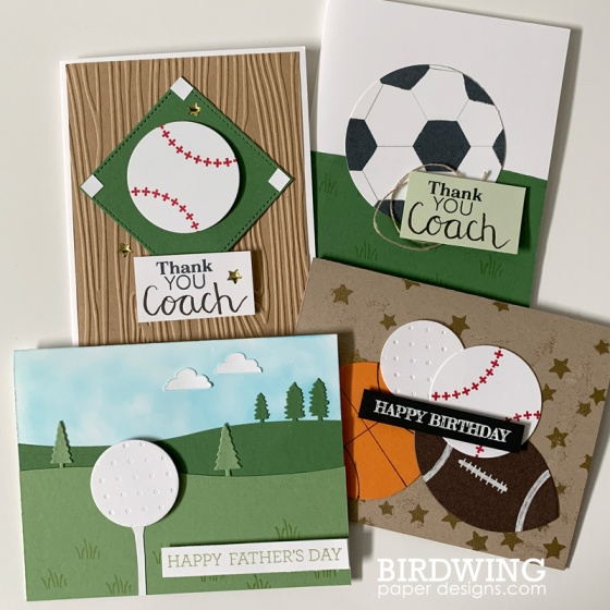 Sports Cards - Birdwing Paper Designs