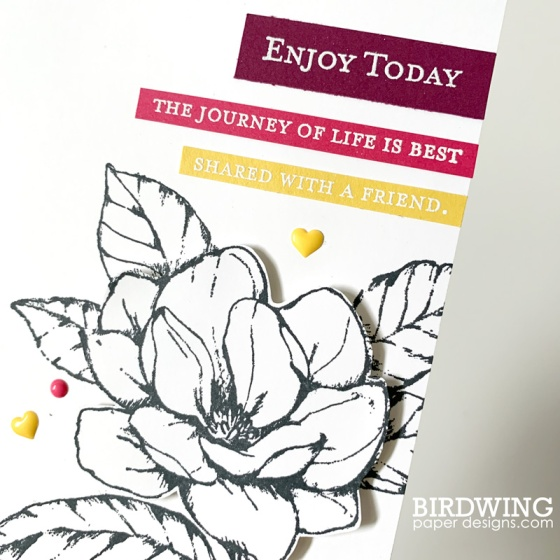 Good Morning Magnolia from Stampin' Up! - Birdwing Paper Designs