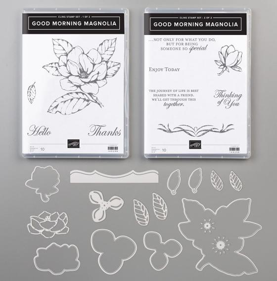 Good Morning Magnolia from Stampin' Up! - Birdwing Paper Designs