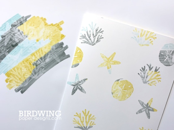 Silicone Mat Stamping Technique - Birdwing Paper Designs