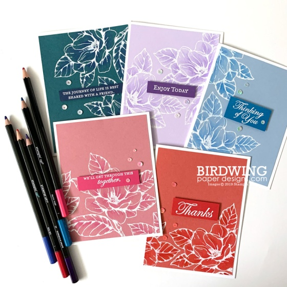 2019-2021 In Colors - Birdwing Paper Designs