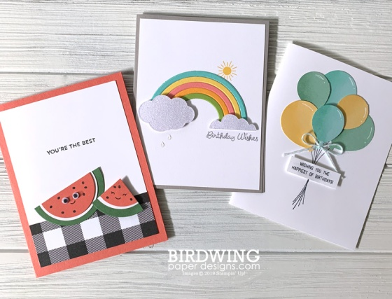 Summer Kids Card Class - Birdwing Paper Designs