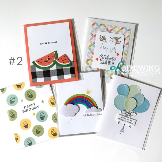 Kids Card Bundles- Birdwing Paper Designs