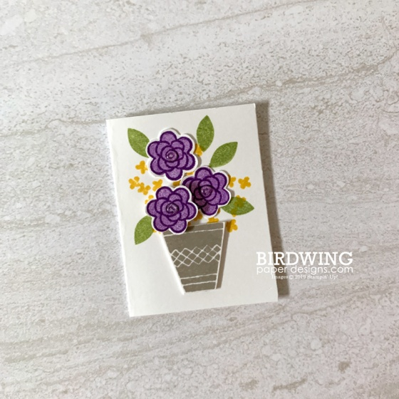 Alternate Uses of Stamps from Varied Vases by Stampin' Up! - Birdwing Paper Designs