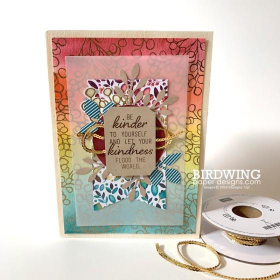 Fall Frames with Paper Pumpkin - Birdwing Paper Designs
