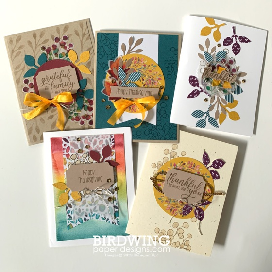 Fall Card Bundle - Birdwing Paper Designs