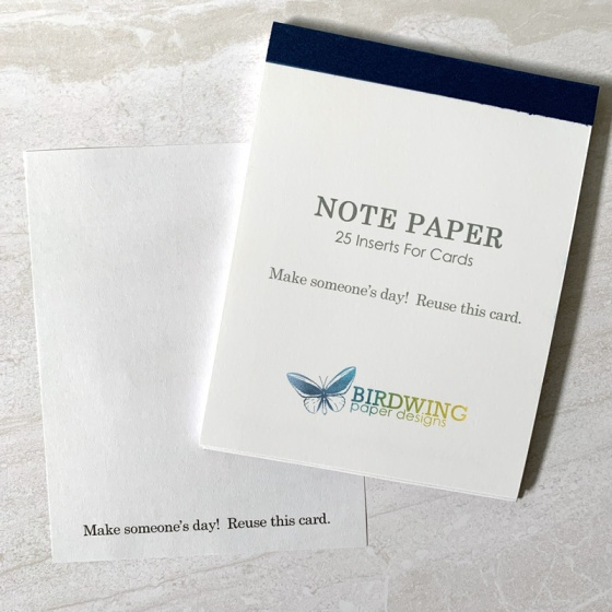 Card Inserts - Birdwing Paper Designs