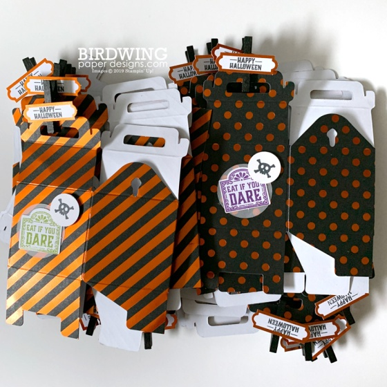 Halloween Treat Boxes from Paper Pumpkin - Birdwing Paper Designs