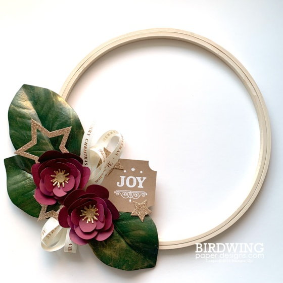Winter Open House - Holiday Wreath
