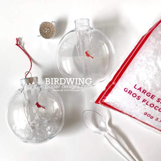 Winter Woods Ornament - Birdwing Paper Designs