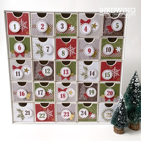 DIY Reusable Advent Calendar - Birdwing Paper Designs