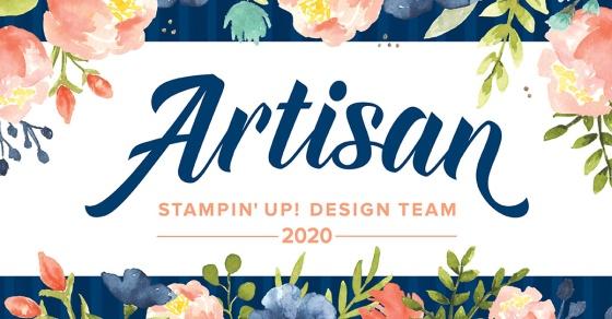 Stampin' Up! Artisan Design Team 2020