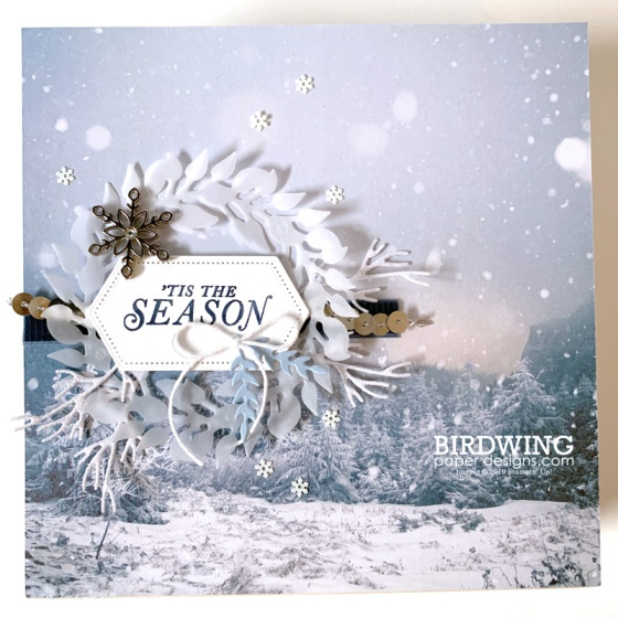 Winter Home Decor - Birdwing Paper Designs