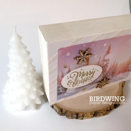 Winter Home Decor - Birdwing Paper Designs