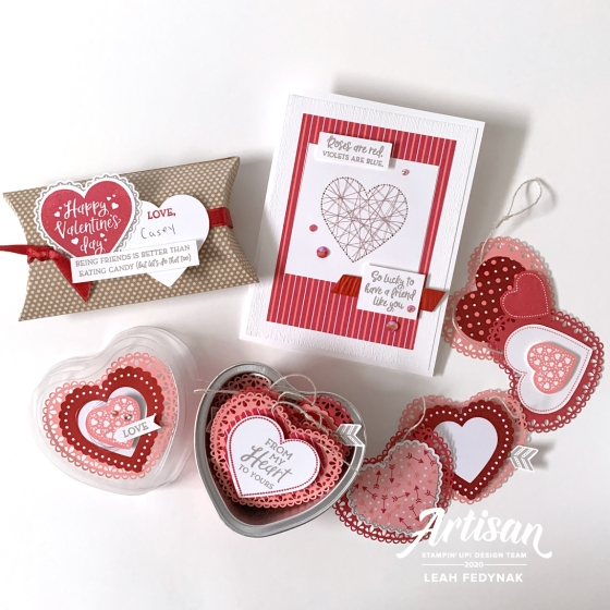 Stampin' Up! Artisan Designs Team Blog Hop - From My Heart Suite Bundle - Birdwing Paper Designs