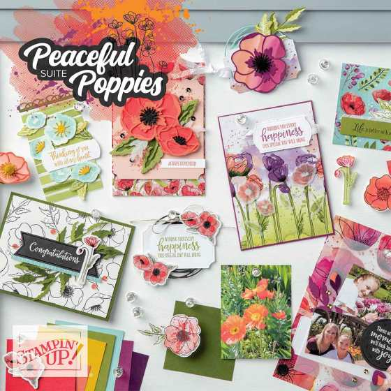 Peaceful Poppies Suite from Stampin' Up!