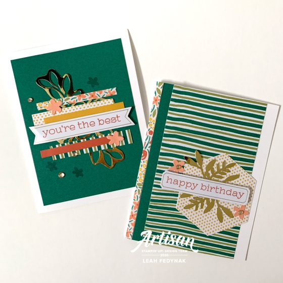 Birthday Cards from the December 2019 Paper Pumpkin Kit - Birdwing Paper Designs