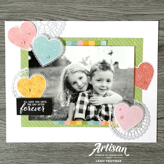 Stampin' Up! Artisan Design Team Blog Hop - Coordination Product