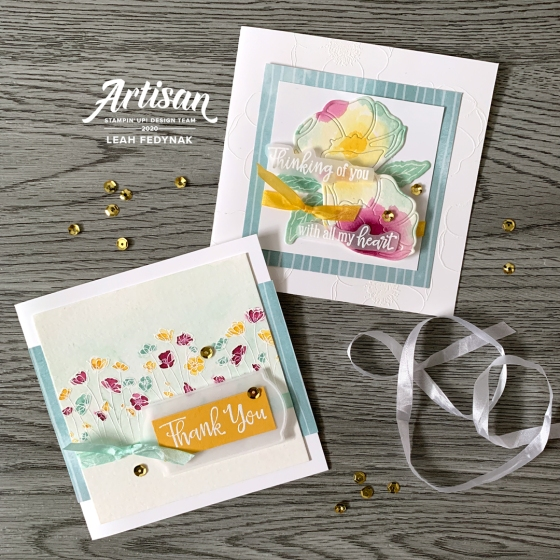 Stampin' Up! Artisan Designs Team Blog Hop - Peaceful Poppies Suite - Birdwing Paper Designs
