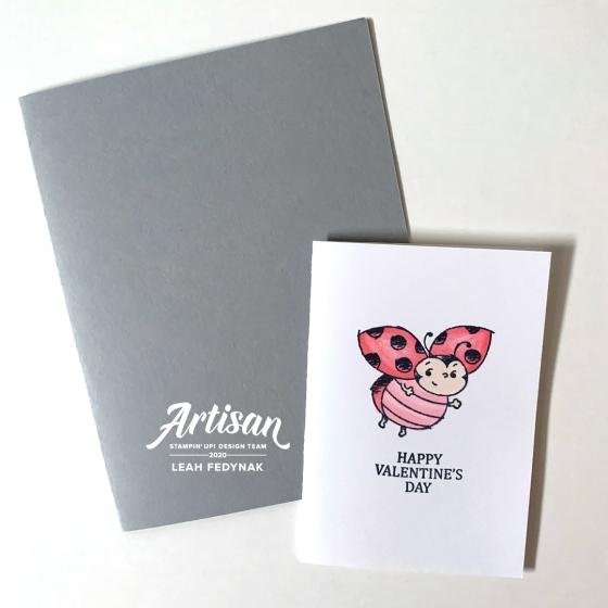 Ladybug Valentine's Day Cards - Birdwing Paper Designs