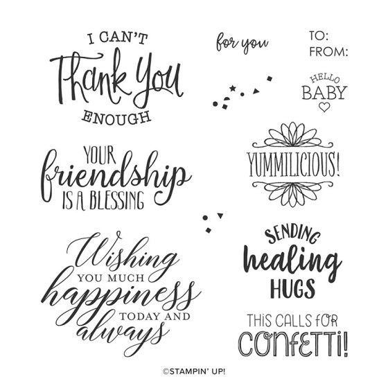 So Sentimental Stamp Set - Stampin' Up!