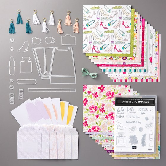 Best Dressed Suite - Stampin' Up!