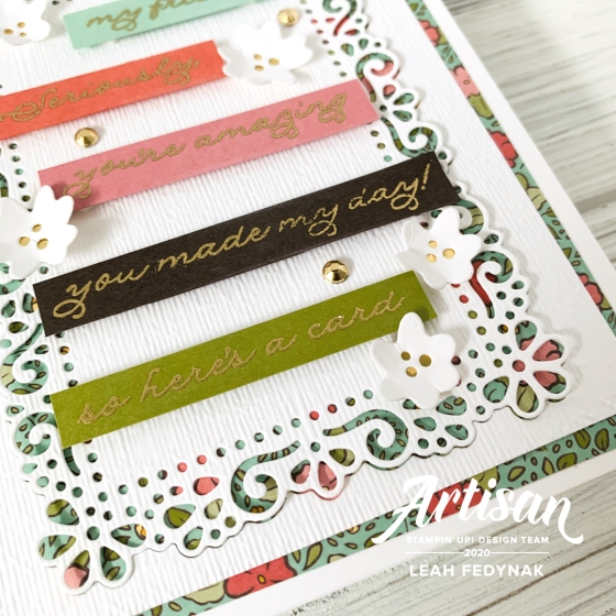 Stampin' Up! Artisan Design Team Blog Hop-Ornate Garden