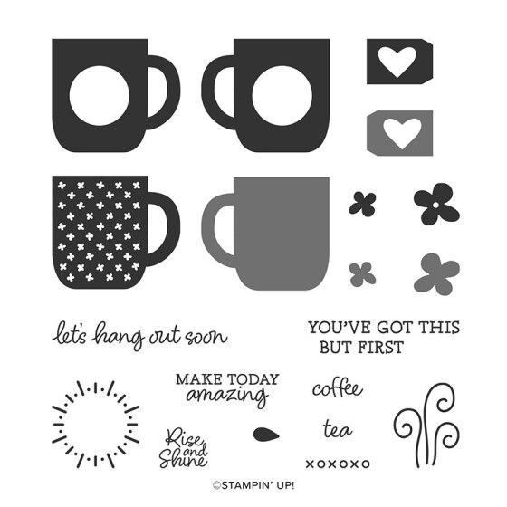 Rise and Shine Stamp Set from Stampin' Up! Sale-A-Bration Second Release