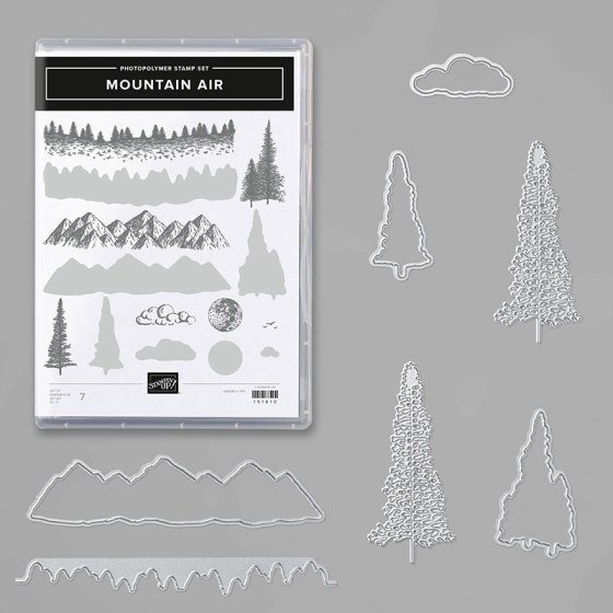 Mountain Air Bundle from Stampin' Up!