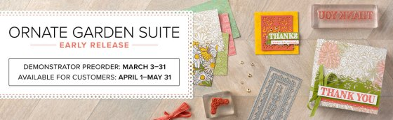 Ornate Garden Suite - Stampin' Up!