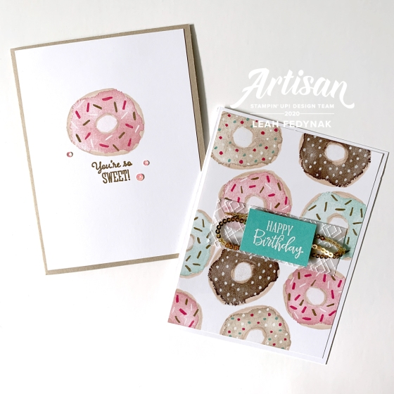 How To Stamp Doughnuts Without A Doughnut Stamp - Birdwing Paper Designs