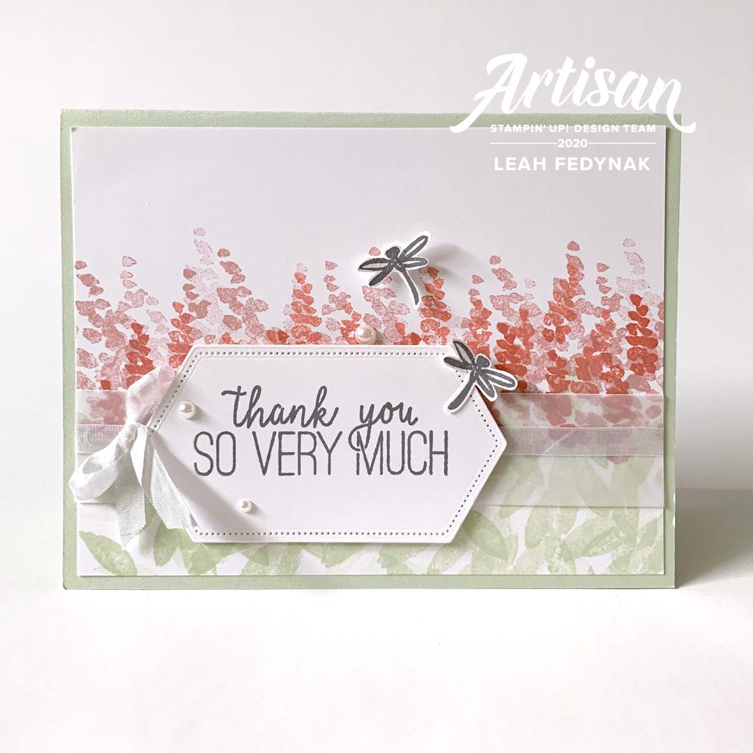 Stampin' Up! Artisan Design Team Blog Hop - Soft Spring Host Stamp Set