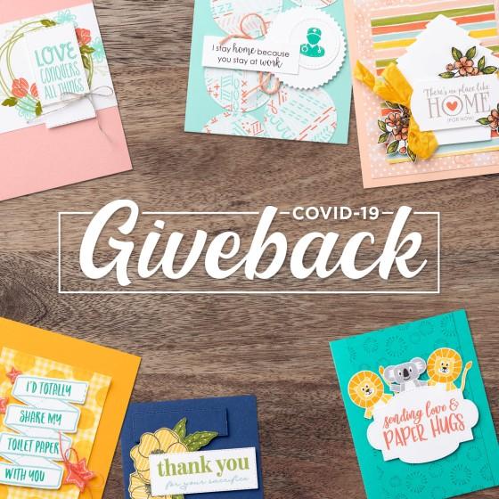 Stampin' Up! Covid-19 Giveback