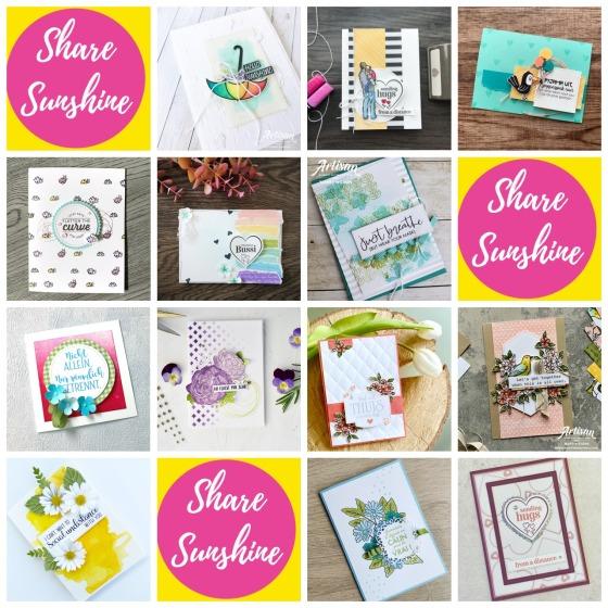 Share Sunshine with the Artisan Design Team