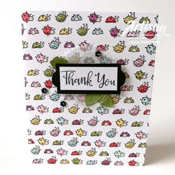 Little Ladybug Stamp Set from Stampin' Up! - Birdwing Paper Designs