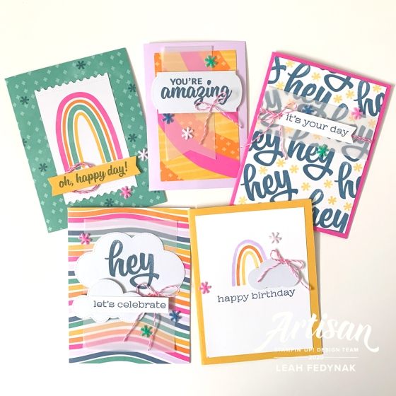 """Celebrate With """"A Kit In Color"""" from Stampin' Up!"""
